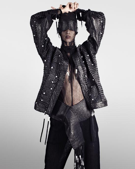 Tomas Berzins & Victoria Feldman, Latvia, Menswear / ESMOD Paris