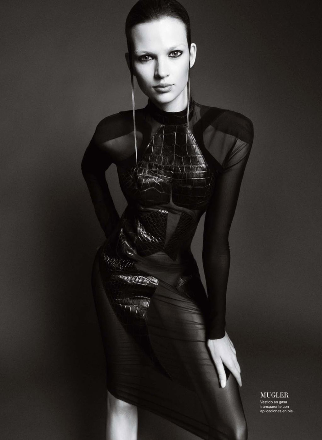Mugler Fall 2012 RTW, Harper's Bazaar Spain October 2012. Photography Nico.