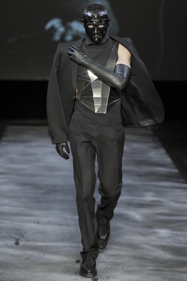 Mugler Fall 2011 Menswear