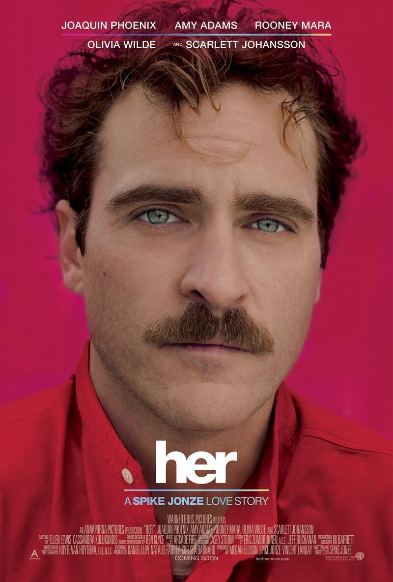 Spike jonze on his new science fiction romance film her her spike jonze joaquin phoenix poster sciox Gallery