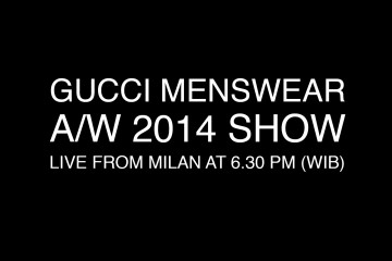 Gucci Fall 2014 Menswear Live Stream