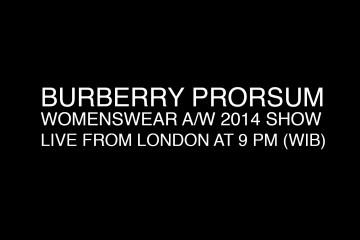 BURBERRY Fall 2014 Womenswear Live Stream