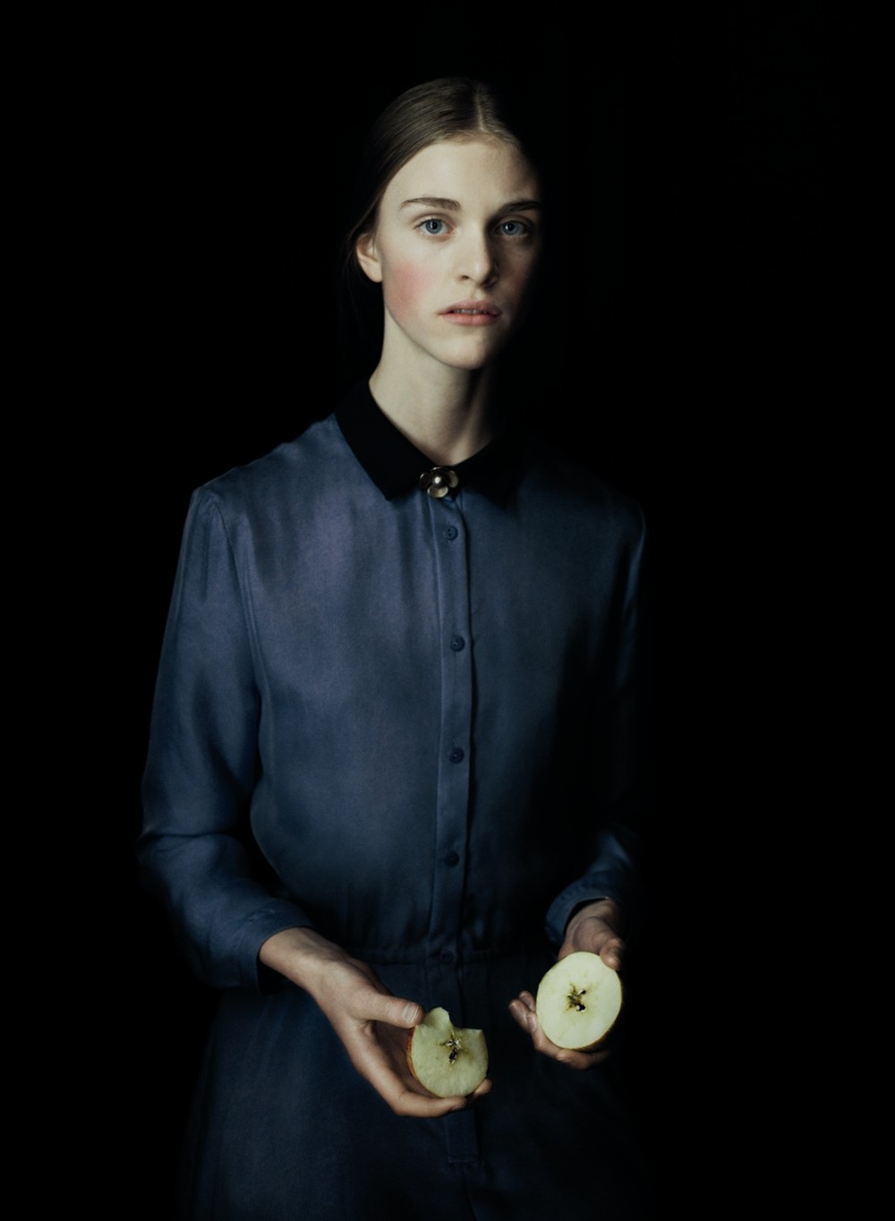 Acne Paper 2011 Girl With an Apple Photography Julia Hetta