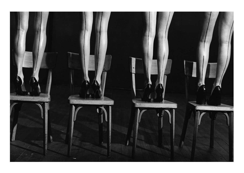 Hommage à Pina Bausch, Paris, France , 1997.  © Peter Lindbergh Courtesy Gagosian Gallery