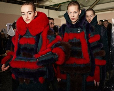 Sacai Fall 2015 Womenswear