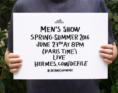 Hermès Spring 2016 Menswear Show