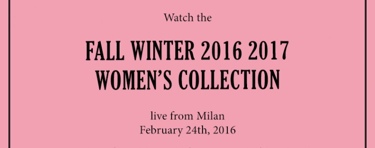 Gucci Fall 2016 RTW Live Stream