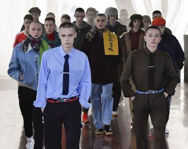 Gosha Rubchinskiy Fall 2017 Menswear