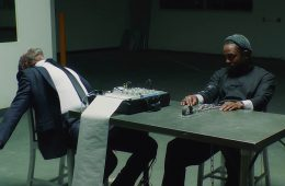 Watch Kendrick Lamar's Intense Performance with Don Cheadle in 'DNA' video