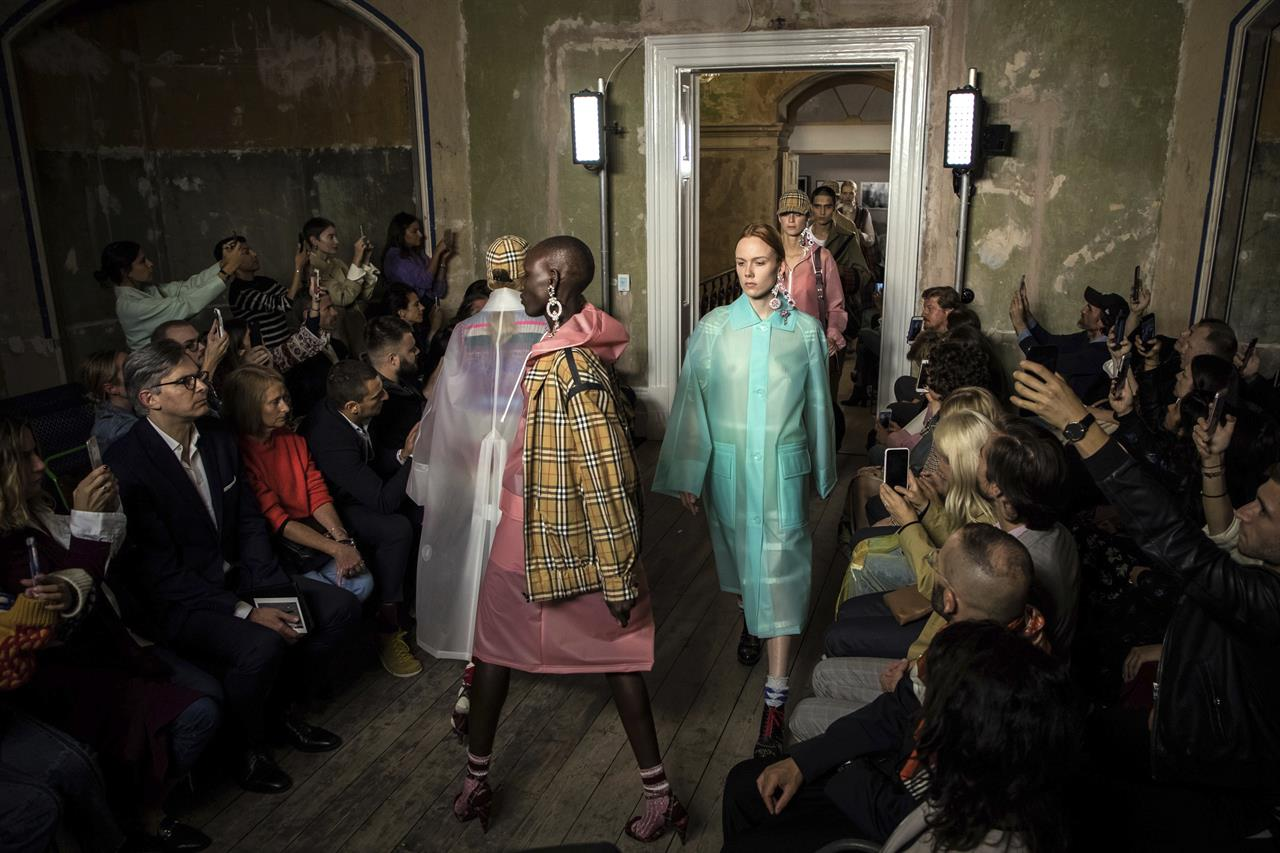 Tough Times With Resilience and Festivity During the London Fashion Week