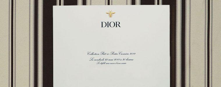 Dior Cruise 2019 RTW Live Stream