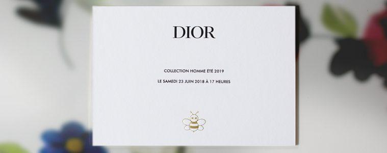 Dior Spring 2019 Menswear Live Stream