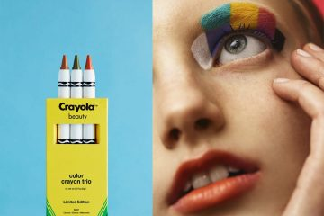 Color Outside the Lines with Crayola Beauty