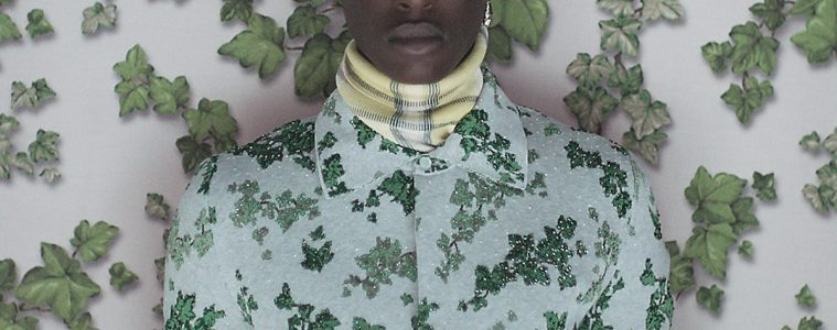 Dior Collaborates with Amoako Boafo for Their Men's Summer 2021 Collection